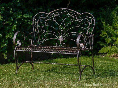 Gartenbank Antik Eisen Vogel Nostalgie Gartenbank Eisen Gartenbank Garten