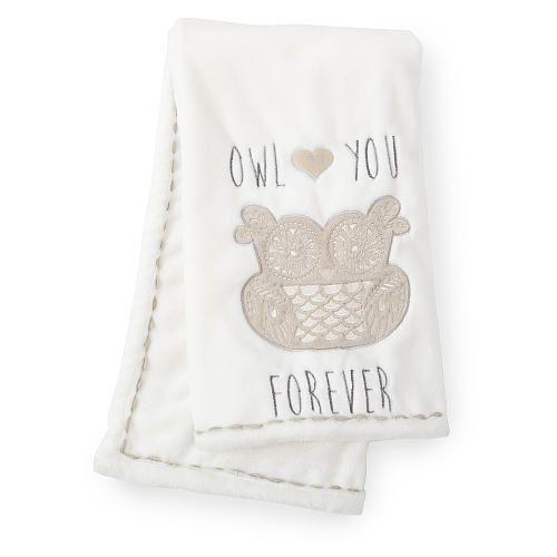 "Levtex Baby Night Owl Blanket - Levtex Baby - Babies ""R"" Us"