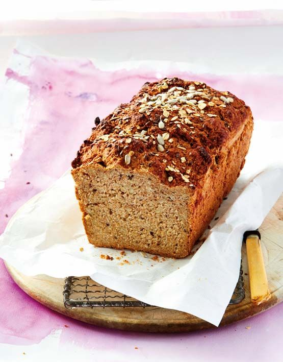 Spelt and honey bread.