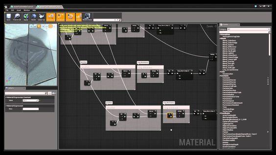Water Dripping Shader & VFX in Unreal Engine 4 Tutorial