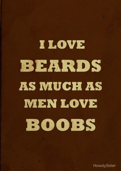 Beards and tattoos!