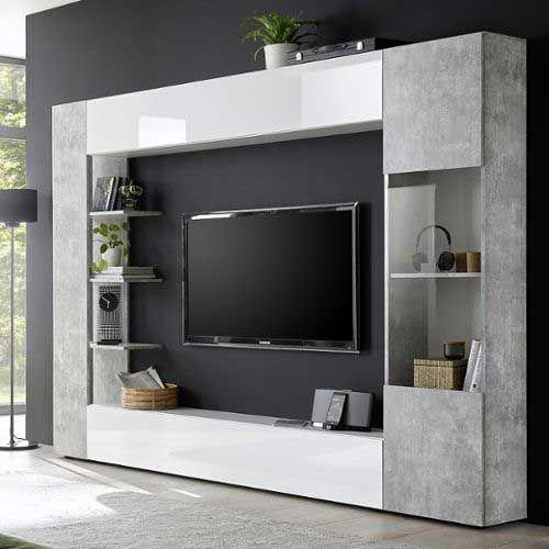 Meuble Tv Mural Gris 1251757692 L Meuble Tv Design Meuble Tele Design Meuble Tv Mural Design