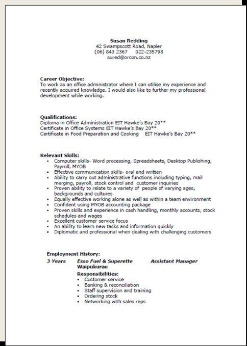 New Zealand Resume Format Resume Templates Free Resume