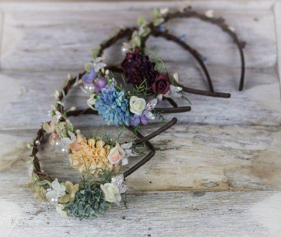 Blumen Haarreif