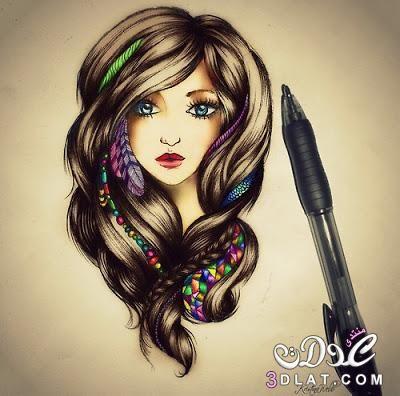 2018 اجمل بنات في الكون بنات بنات كيوت للفيس بوك خلفيات خلفيات بنات قمرات رمزيات رمزيات بنات جريئة رمز How To Draw Hair Girly Drawings Cartoon Drawings