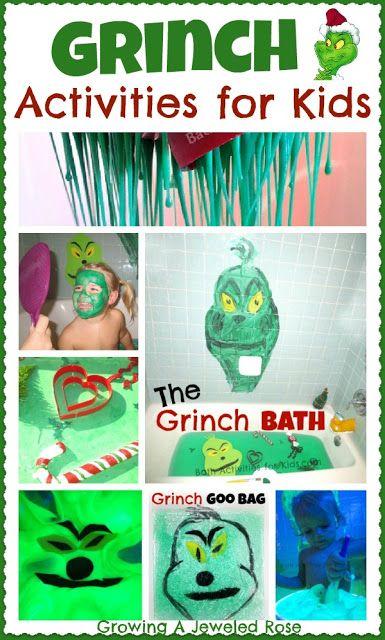 Christmas Activities   Christmas Kids   Pinterest   Grinch, Christmas ...