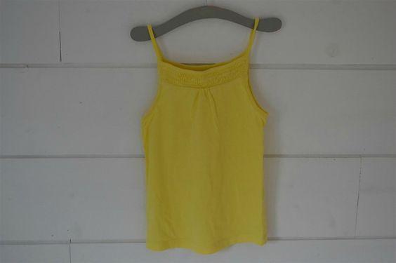 Débardeur en coton jaune citron Okaidi - 6 Ans
