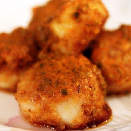 Buffalo scallops recipe wake up scallops and the o 39 jays for Buffalo fish recipe