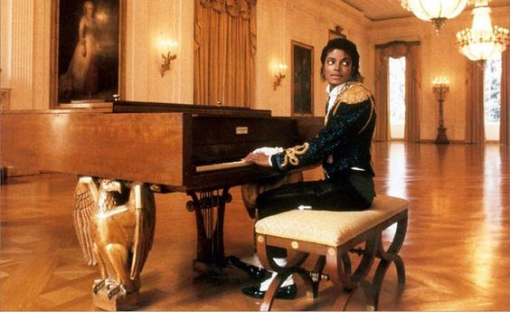 MJ at the White House in the 80's