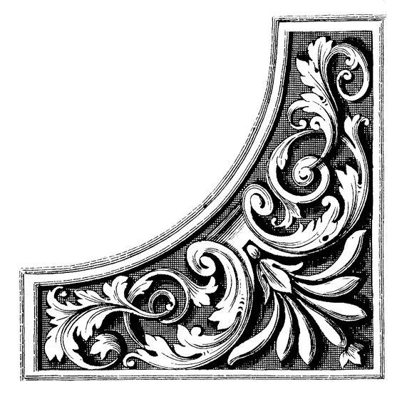 filigree | Clip Art - ...