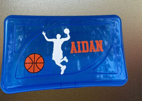 Personalized Pencil Case Many sports themes by PersonalizedbyDawn, $5.25