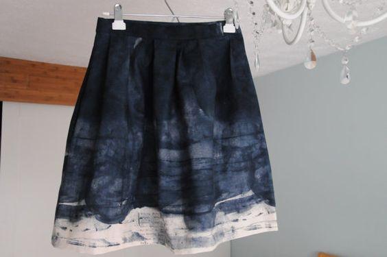 Nano Iro Painting on Cotton -