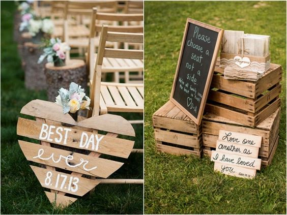 35 eco chic ways to use rustic wood pallets in your for Pallet shabby chic