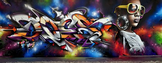Paris- Francia  Graffiti by Does • Smug photo global street art