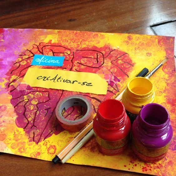 Oficina CriAtivar-se . Nova edição 19 de setembro de 2015 . Vem dar um pause na rotina e ativar a sua criatividade.