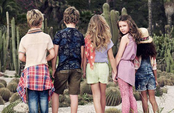 Vestidos para el verano con Mango Kids