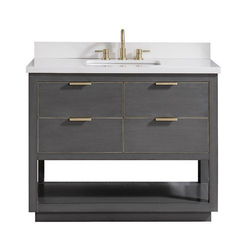 Wilbanks 31 Single Bathroom Vanity Set Single Sink Bathroom