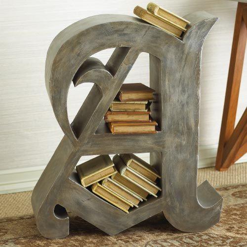 - Letter A Bookshelf