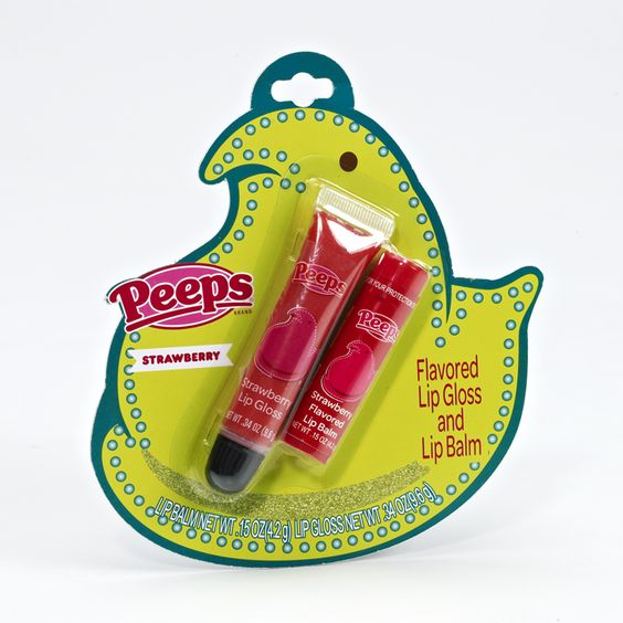 PEEPS® STRAWBERRY LIP GLOSS