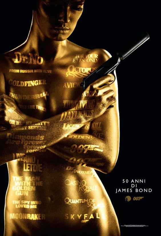 Oggi, venerdì 5 ottobre non è un giorno come tutti gli altri, ma è ma il 50esimo anniversario della serie di film dell'agente 007, ovvero il Global James Bond Day.