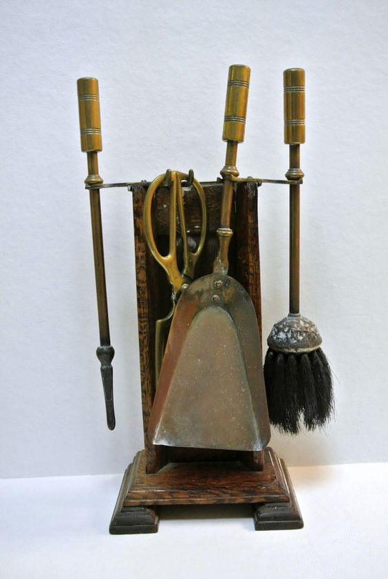 Antique Miniature Fireplace Beehive Oven Coal Stove Tabletop Tools Salesman Sample Victorian Utensils