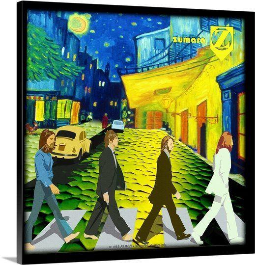 Fab4 Van Gogh Road
