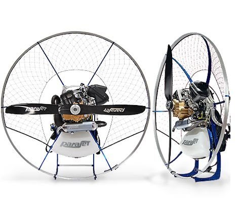 The Zenith paramotor from Team Fly Halo