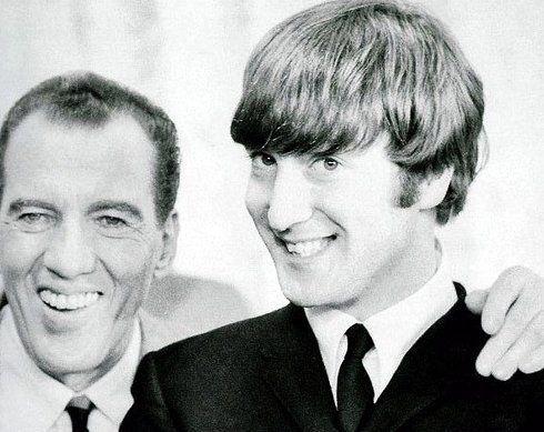 Ed Sullivan & John Lennon.