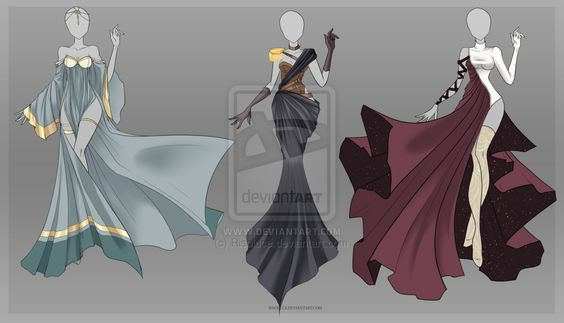 (CLOSED) Adoptable Outfit Auction 13 by Risoluce.deviantart.com on @DeviantArt