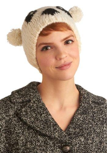 Truth or Bear Hat | Mod Retro Vintage Hats | ModCloth.com - StyleSays