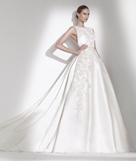 Elie by Elie Saab for Pronovias Bridal Collection 2015: