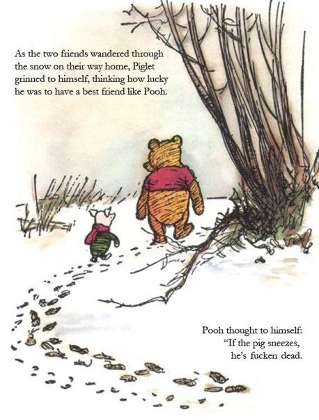 Winnie and Piglet
