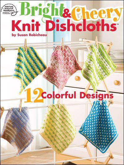 Knitted Dishcloth Pattern Books : Pinterest   The world s catalog of ideas