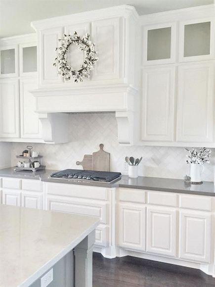 Sherwin Williams Pure White Cabinets Whitekitchencabinets Beautiful Kitchen Cabinets Kitchen Cabinets Decor Kitchen Cabinet Design