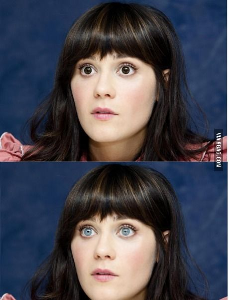 I didn't recognize her... td lo hacen los ojos sooooo sad