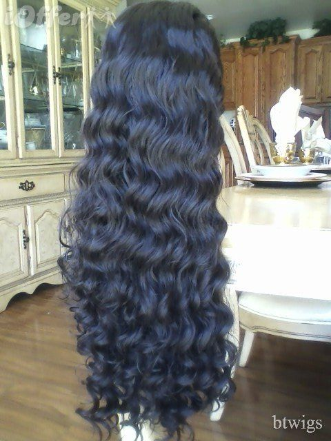 CUSTOM MADE Beautiful Full Lace Front Wig 14-28 inches!