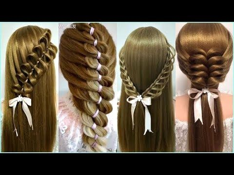 Peinados Faciles Y Bonitos Para Cabello Largo 2018 Tutorial Trenzas De Moda Para Nina 34 Youtube Easy And Beautiful Hairstyles Cool Hairstyles Hair Styles