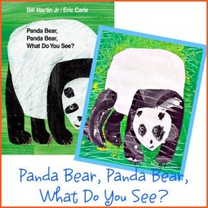 panda, eric carle