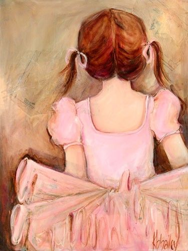 Sweet Ballerina - one of my favorite art pieces for girls rooms