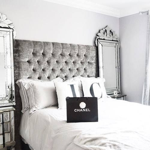 Pretty please mum can I have this bed and the Chanel treat?