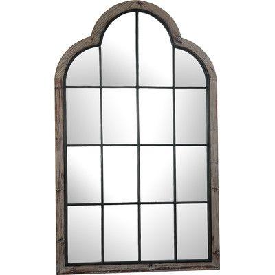 Huge paneled window mirror - wish list ✨