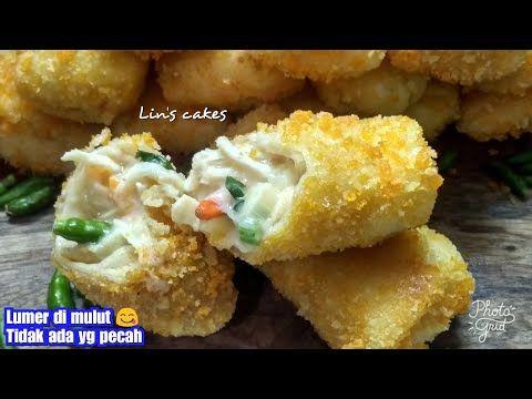 Resep Dan Cara Membuat Risoles Ragout Ayam Lembut Lentur Dan Tidak Robek Enak Mantul Youtube Resep Makanan Dan Minuman Ide Makanan