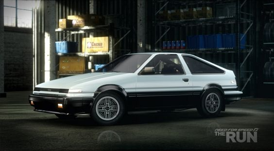 Toyota Corolla GTS (AE86) I will own you