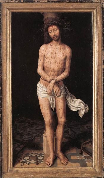 Christ at the Column, 1485-1490 - Hans Memling