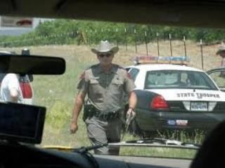 "A senior citizen was pulled over for speeding. Pulling in behind him, the trooper walked up, looked at his watch, and said, ""Sir, my shift ends in ten minutes. It's Good Friday. If you can give me a reason for speeding that I've never heard before, I'll let you go.""  The old gentleman paused. Then he said, ""Years ago, my wife  ran off with a State trooper. I thought you were bringing her back.""  ""Have a good day, sir,"" replied the trooper."
