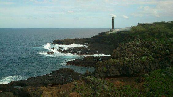 Faro de Barlovento  en la isla de La Palma