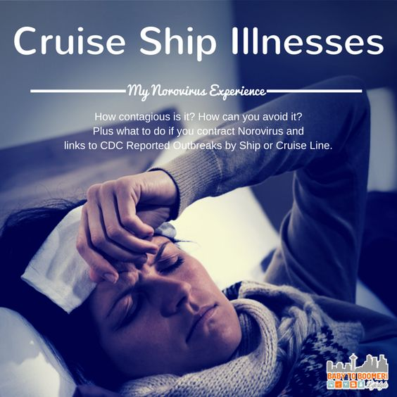 Cruise Ship Illnesses: My Norovirus Experience - how to avoid it, what to do if you contract it, and what I'll do next time to have medication with me.