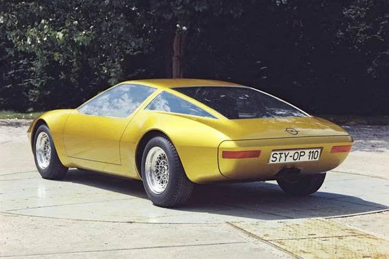 Photo: Opel GT-W Geneve, 1975!