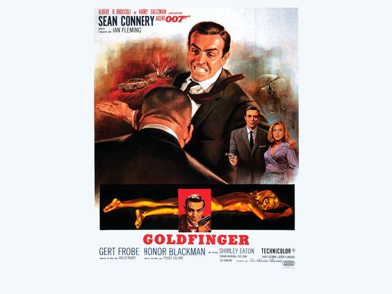 James Bond- Goldfinger