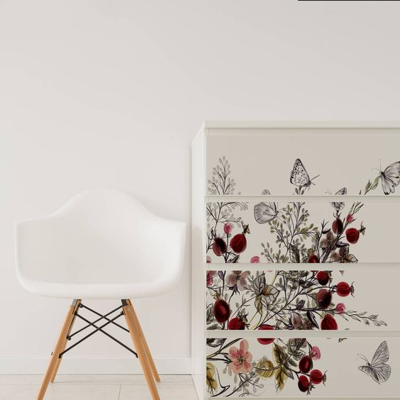 Pintar la cómoda Malm de Ikea